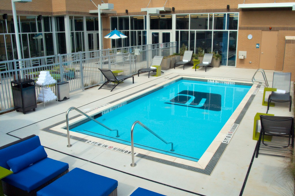 Commercial community fitness center pool north va pool for Pool design virginia