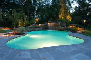 Luxury North VA Pool Design