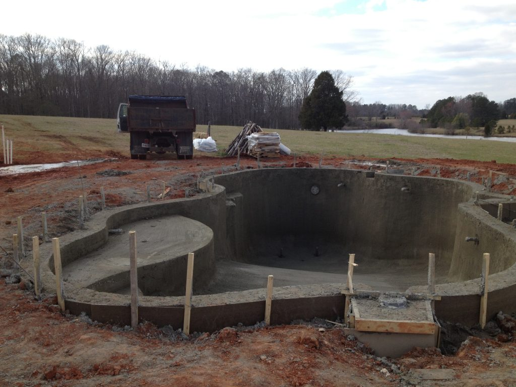 Get new pool construction company in north virginia for New pool construction