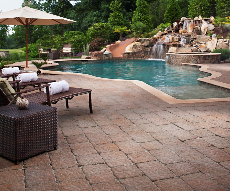 Pool tile and coping construction company north va for Pool design company