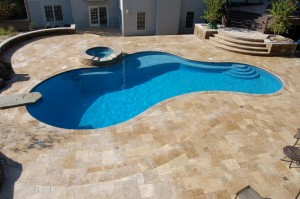 Travetine Pool