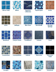 Pool Tile Examples for North VA