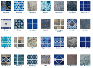 Pool Tile Options for Pool Design Contractor North VA