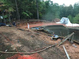 Fairfax VA Pool Construction