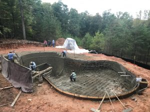 Fairfax VA Pool Construction