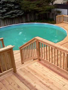 pool deck construction